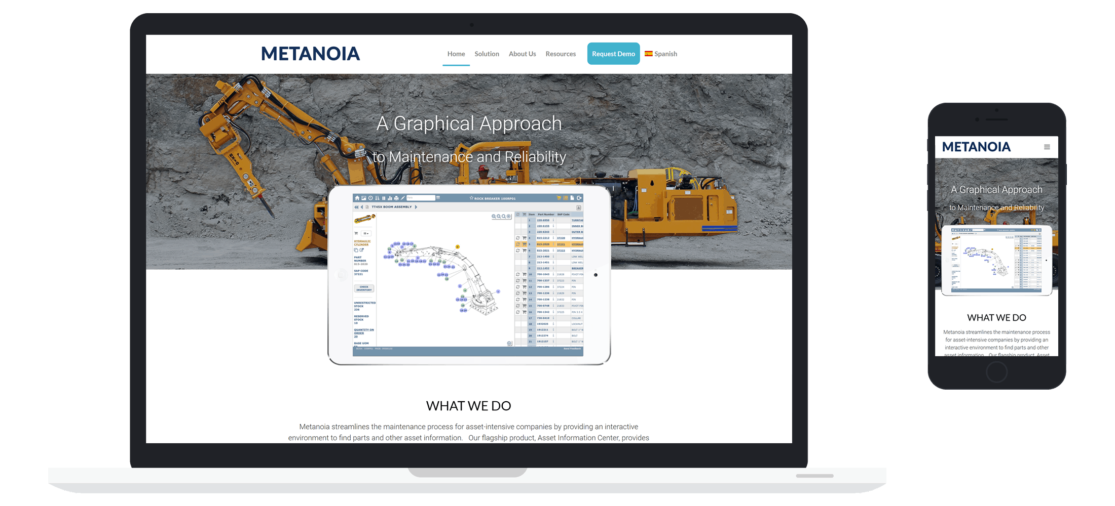 Managed IT Website client - Metanoia Case Study