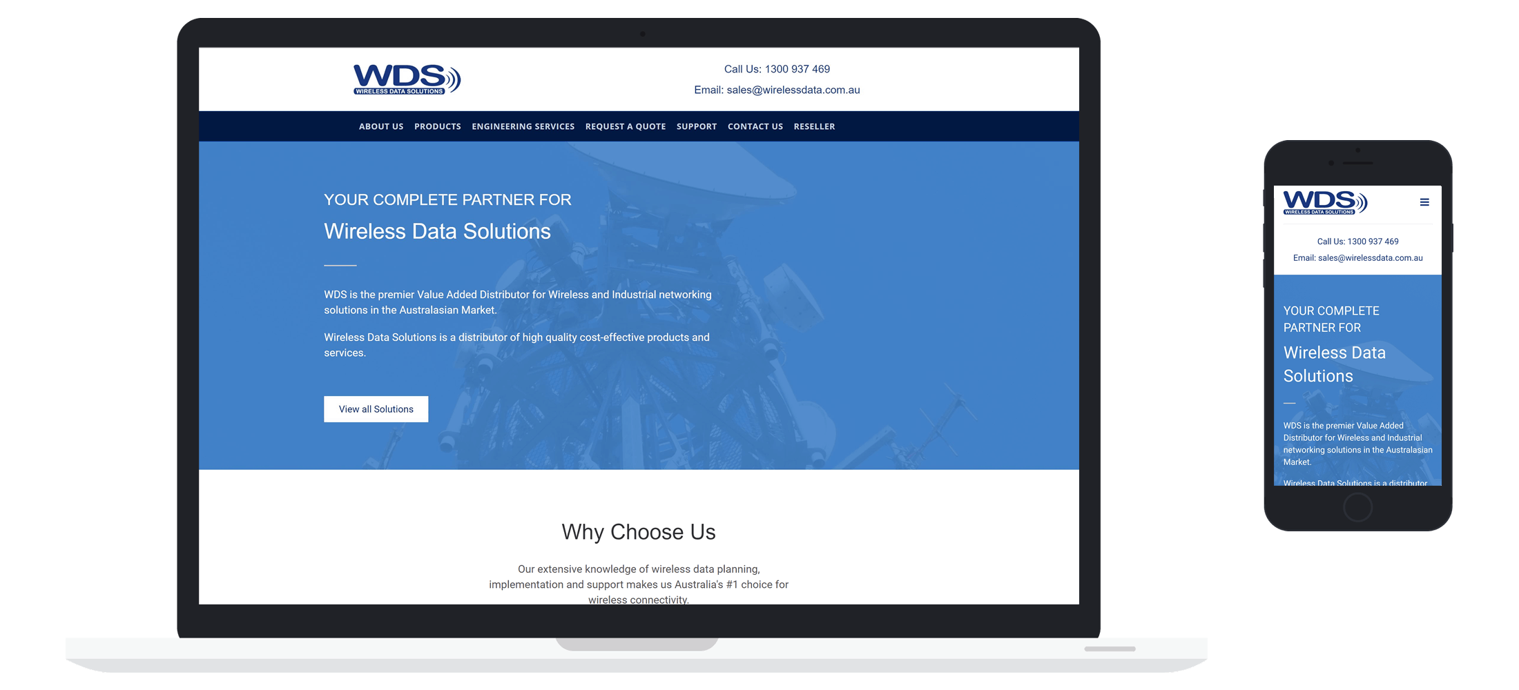 Managed IT Website client - WDS Case Study
